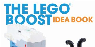 The LEGO Boost Idea Book Cover