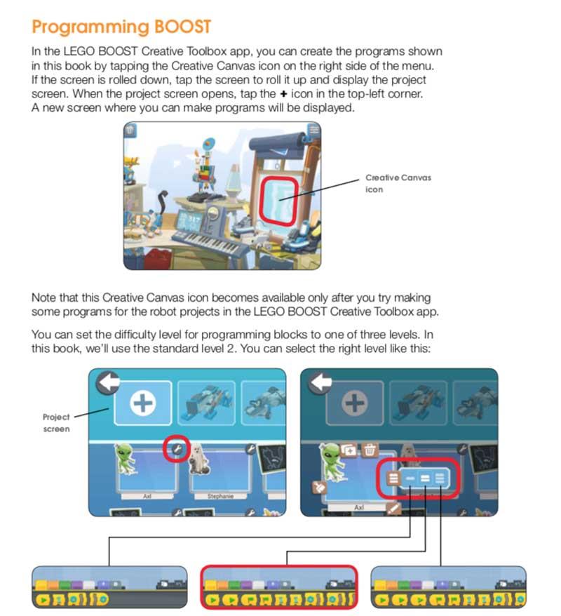 LEGO Boost Idea Book Introduction
