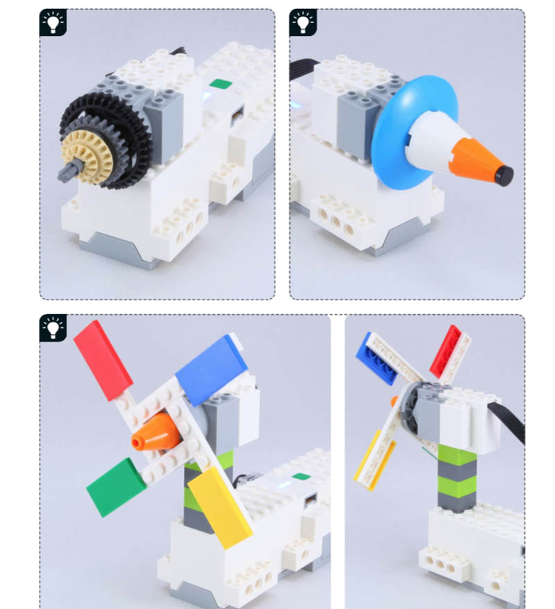 LEGO Boost Idea Book suggestions page