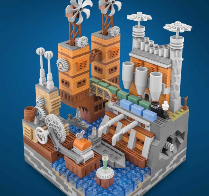 LEGO Micro Cities Steamworks