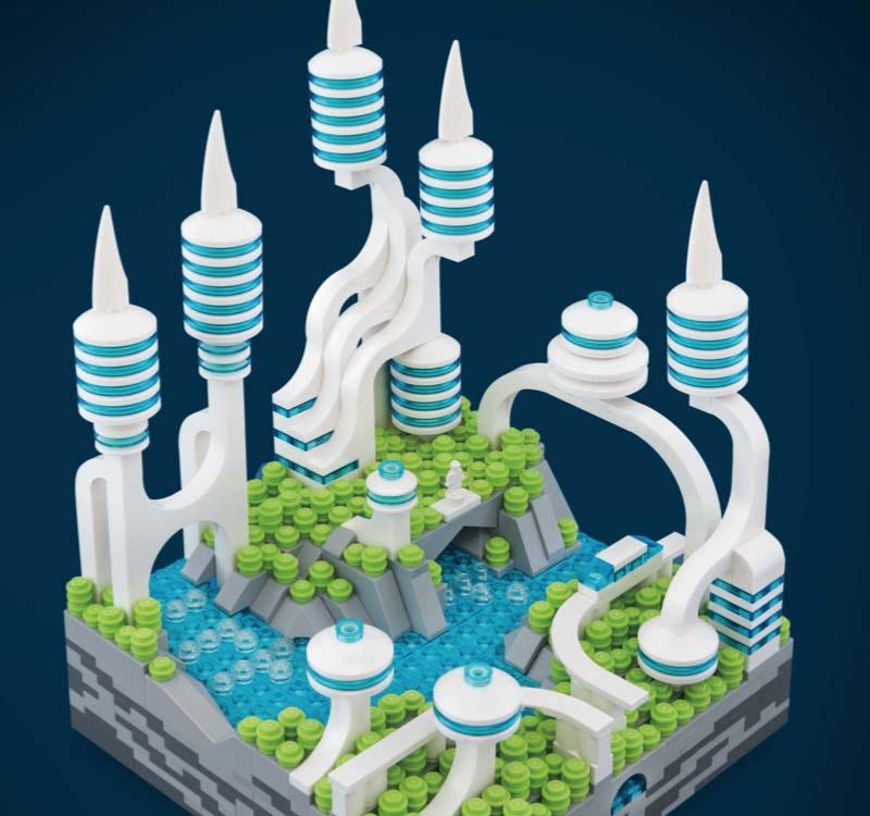 LEGO Micro Cities Utopia