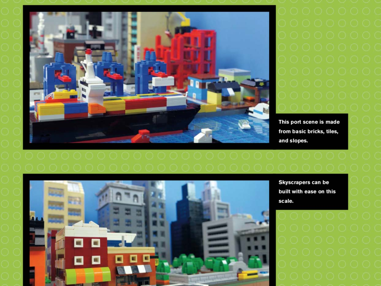LEGO Micro City Harbor Build -- LEGO Neighbourhood Book 2