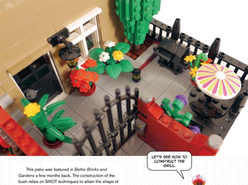 LEGO patio detail shot -- LEGO Neighbourhood Book 2