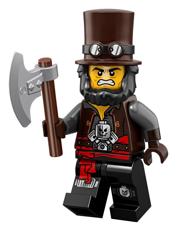 Abraham Lincoln Vampire Hunter - The LEGO Movie 2 Minifigures Series CMF Character