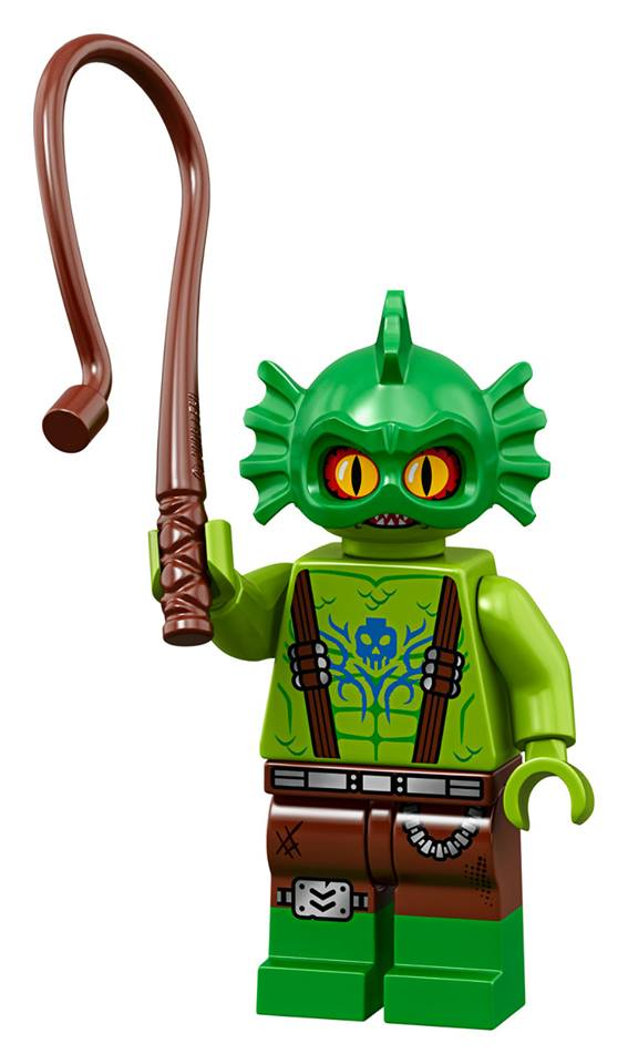 Apocalypseburg Swamp Creature - The LEGO Movie 2 Minifigures Series CMF Character
