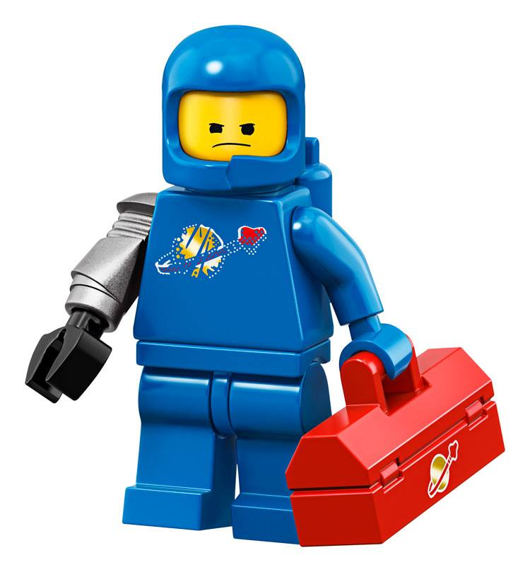 Benny - The LEGO Movie 2 Minifigures Series CMF Character