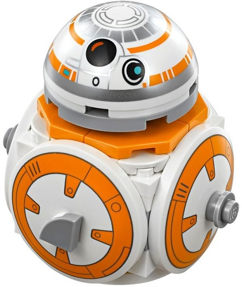 Brick-Built BB-8 - LEGO Star Wars Astromech Droid