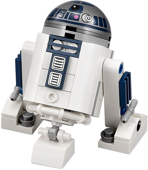 Brick-Built R2-D2 Promotion - LEGO Star Wars Astromech Droid