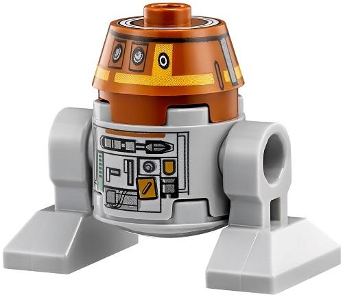"C1-10P or ""Chopper"" - LEGO Star Wars Astromech Droid"
