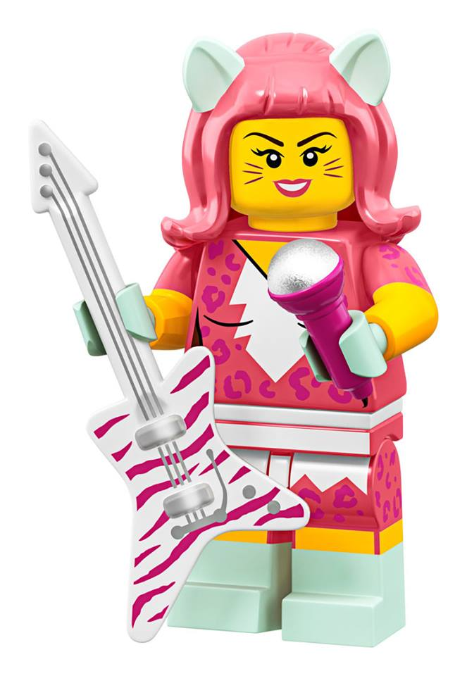 Cat Girl Guitarist - The LEGO Movie 2 Minifigures Series CMF Character