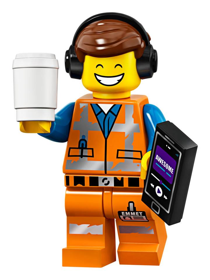 Emmet - The LEGO Movie 2 Minifigures Series CMF Character