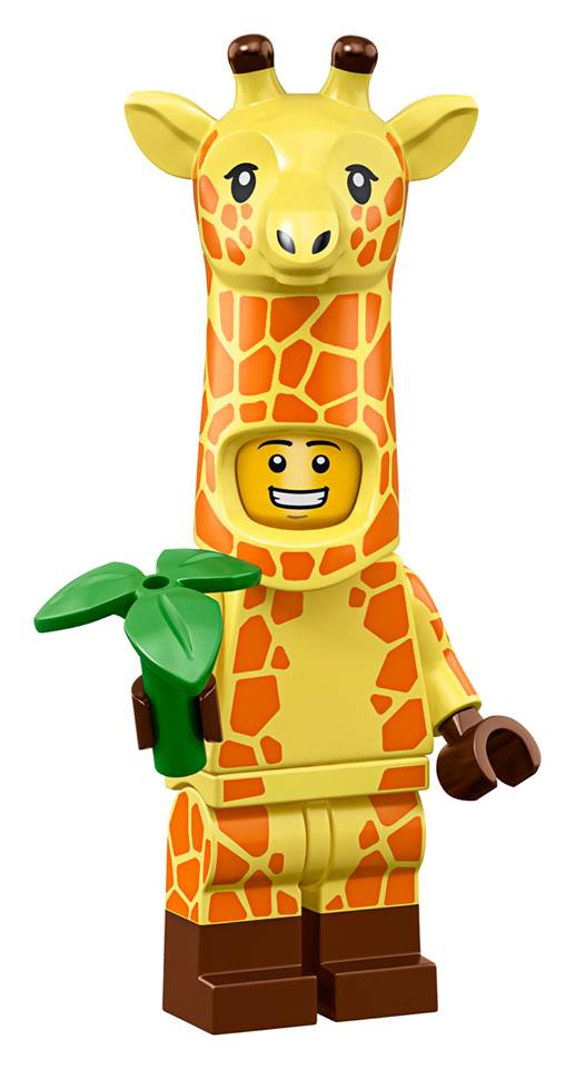 Giraffe Suit Guy - The LEGO Movie 2 Minifigures Series CMF Character
