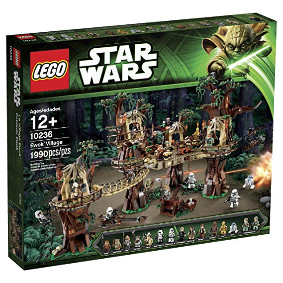 LEGO 10236 Ewok Village - Best LEGO Star Wars Sets