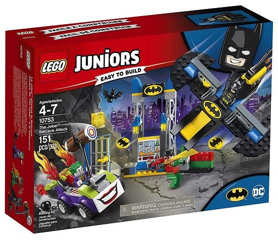 LEGO 10753 The Joker Batcave Attack - Best LEGO Juniors Batman Sets DC