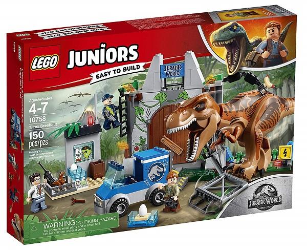 LEGO 10758 T-Rex Breakout - Best LEGO Jurassic World Sets