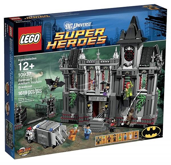 LEGO 10937 Arkham Asylum Breakout - Best LEGO Batman Sets DC Comics