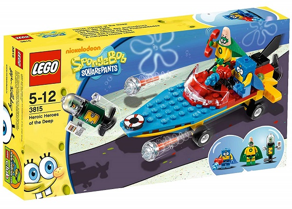 LEGO 3815 Heroic Heroes of the Deep - SpongeBob SquarePants Set
