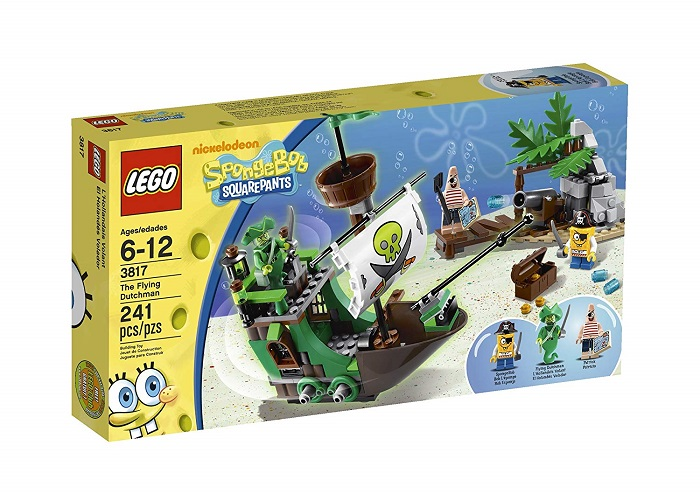 LEGO 3817 The Flying Dutchman - SpongeBob SquarePants Set
