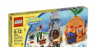 LEGO 3818 Bikini Bottom Undersea Party - SpongeBob Squarepants Set
