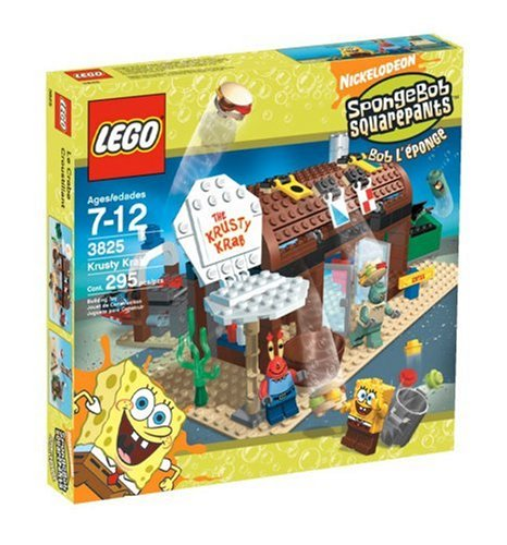 LEGO 3825 The Krusty Krab - SpongeBob SquarePants Set