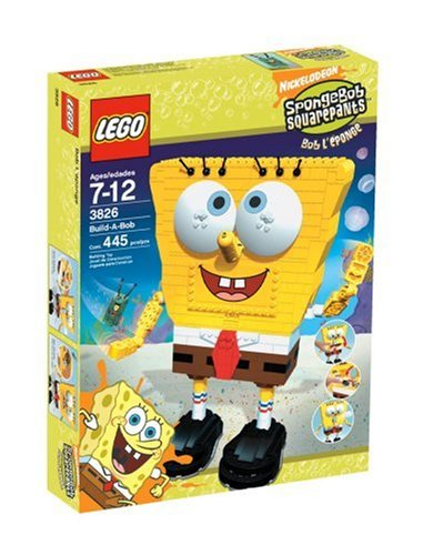 LEGO 3826 Build-A-Bob - SpongeBob SquarePants Set