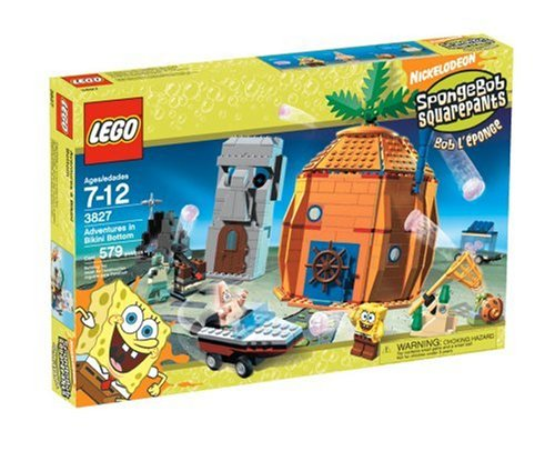 LEGO 3827 Adventures in Bikini Bottom - SpongeBob SquarePants Set