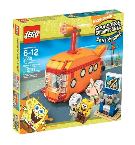 LEGO 3830 The Bikini Bottom Express - SpongeBob SquarePants Set