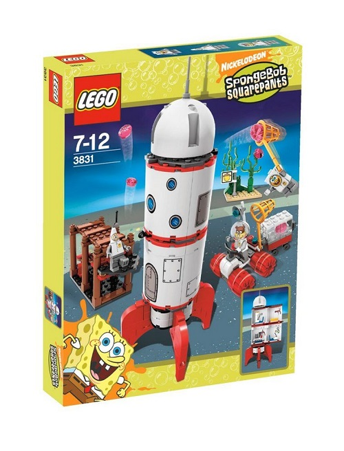 LEGO 3831 Rocket Ride - SpongeBob Squarepants Set