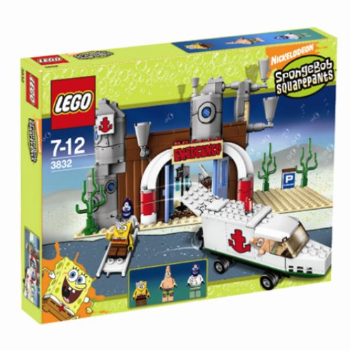 LEGO 3832 Emergency Room - SpongeBob SquarePants Set
