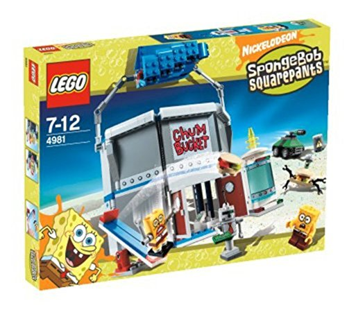 LEGO 4981 Chum Bucket - SpongeBob Squarepants Set