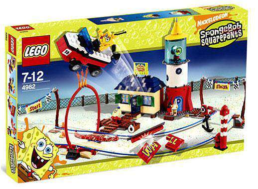LEGO 4982 Mrs Puffs Boating School - SpongeBob SquarePants Set
