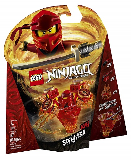 LEGO 70659 Spinjitzu Kai - 2019 LEGO Ninjago Sets