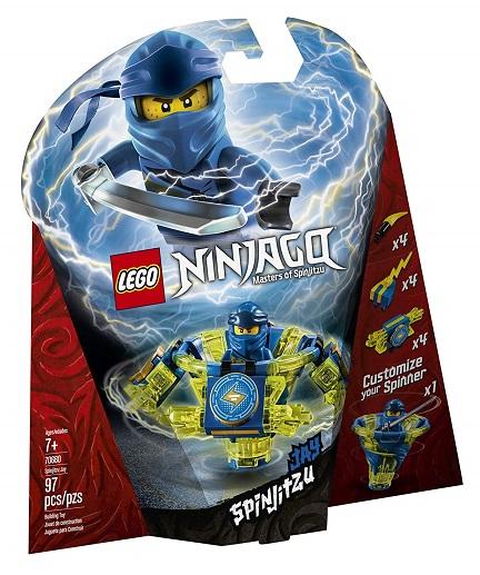 LEGO 70660 Spinjitzu Jay - 2019 LEGO Ninjago Sets