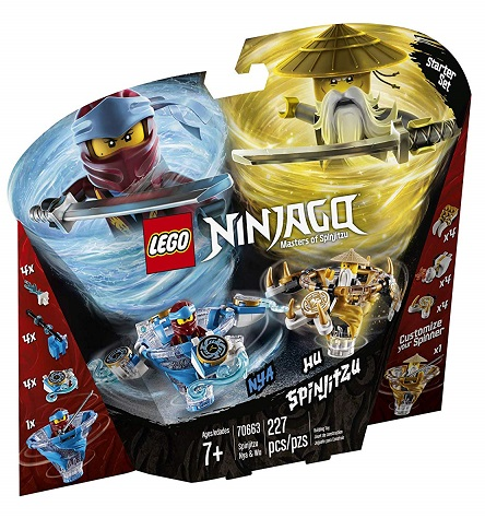 LEGO 70663 Spinjitzu NYA & Wu - 2019 LEGO Ninjago Sets