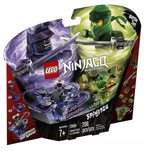 LEGO 70664 Spinjitzu Lloyd vs. Garmadon - 2019 LEGO Ninjago Sets