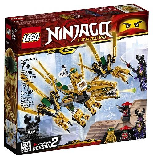 LEGO 70666 Legacy Golden Dragon - 2019 LEGO Ninjago Sets