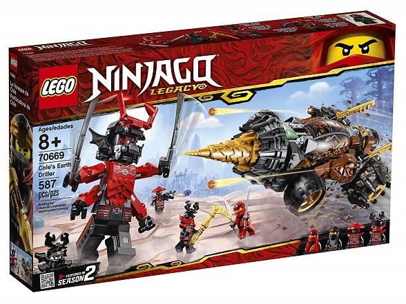LEGO 70669 Cole's Earth Driller - 2019 LEGO Ninjago Sets