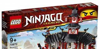 LEGO 70670 Monastery of Spinjitzu - 2019 LEGO Ninjago Sets