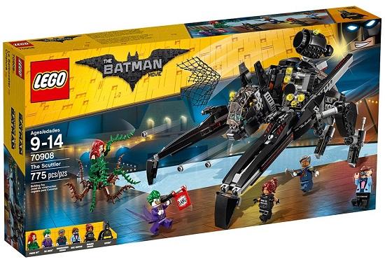 LEGO 70908 The Scuttler - Best LEGO Batman Movie Sets