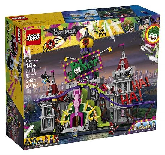LEGO 70922 The Joker Manor - Best LEGO Batman Movie Sets DC