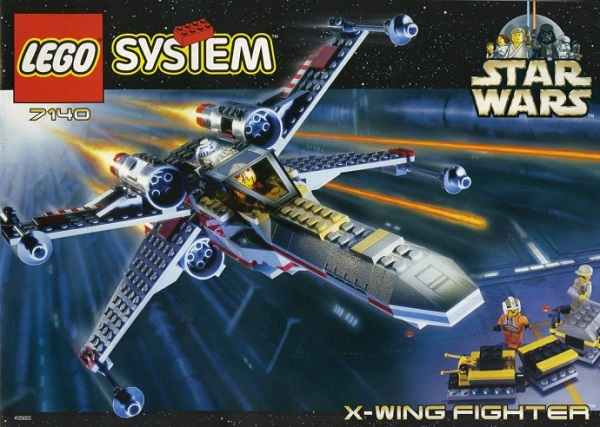 LEGO 7140 X-Wing Fighter - Best LEGO Star Wars Sets