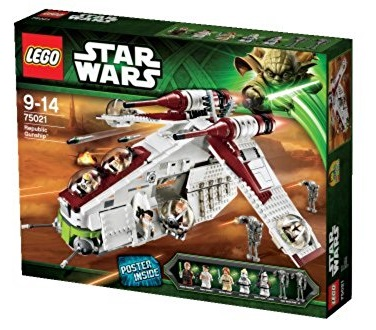 LEGO 75021 Republic Gunship - Best LEGO Star Wars Sets