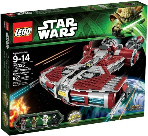 LEGO 75025 Jedi Defender-class Cruiser - Best LEGO Star Wars Sets