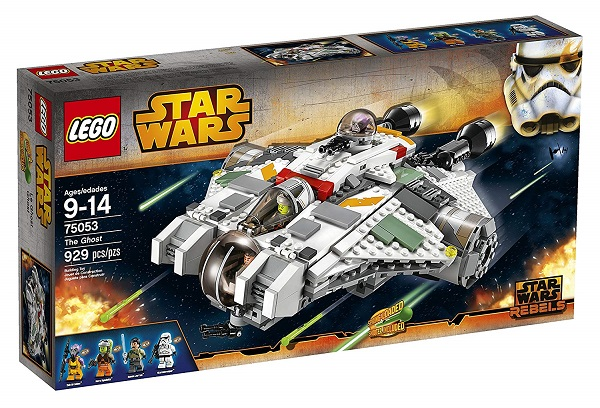 LEGO 75053 The Ghost - Best LEGO Star Wars Sets