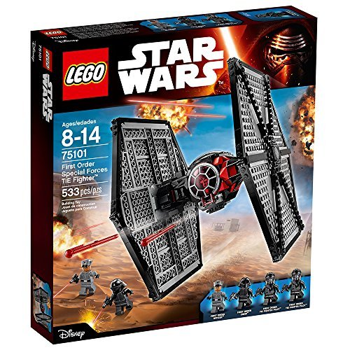LEGO 75101 First Order Special Forces TIE Fighter - Best LEGO Star Wars Sets