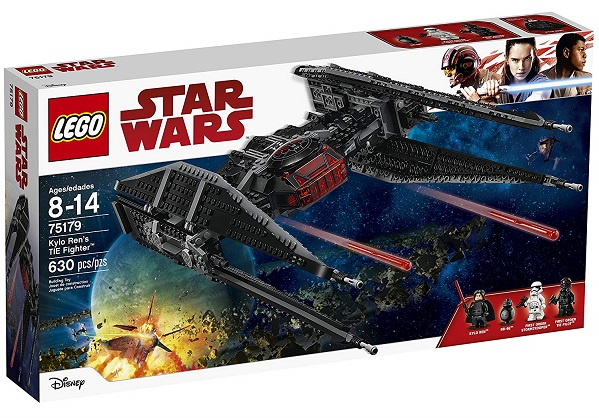 LEGO 75179 Kylo Ren's TIE Fighter - Best LEGO Star Wars Sets