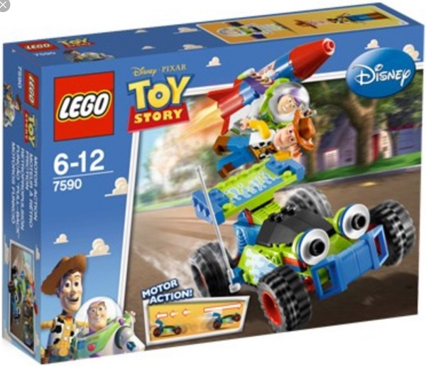 LEGO 7590 Woody and Buzz to the Rescue - Toy Story Set