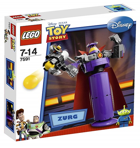 LEGO 7591 Construct-a-Zurg - Toy Story Set