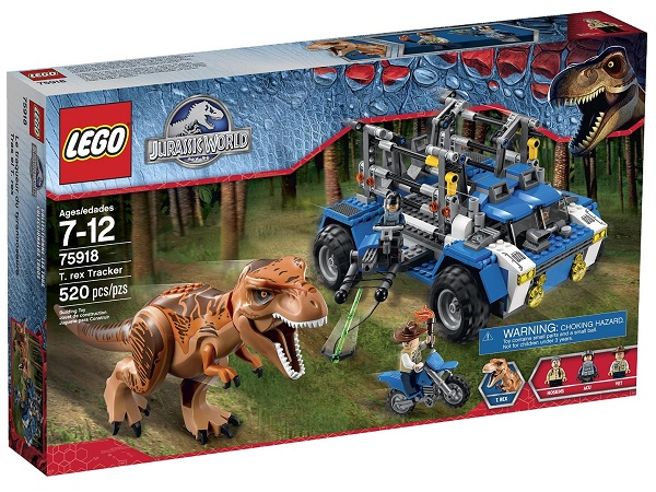 LEGO 75918 T. Rex Tracker - Best LEGO Jurassic World Sets