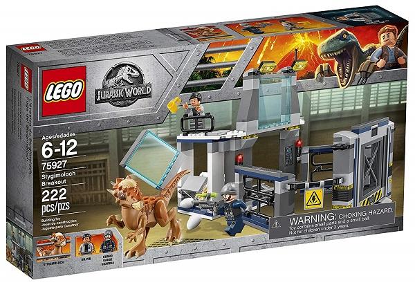 LEGO 75927 Stygimoloch Breakout - Best LEGO Jurassic World Sets